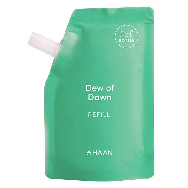 Haan Recharge Spray Désinfectant Hydratant Mains Dew of Dawn Herbe Fraîche 100ml