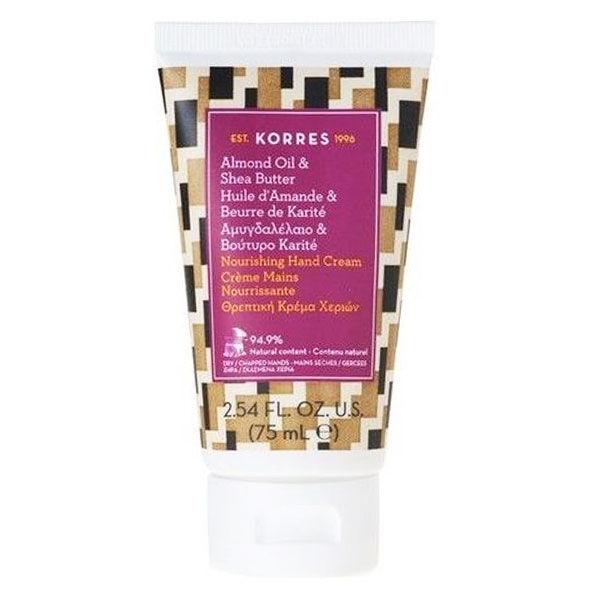 Korres Crème Mains Ultra-Nourrissante Amande Beurre de Karité 75ml