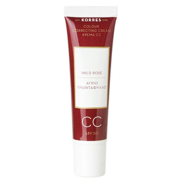 Korres Rose Sauvage CC Crème SPF30 Teinte Light 30ml