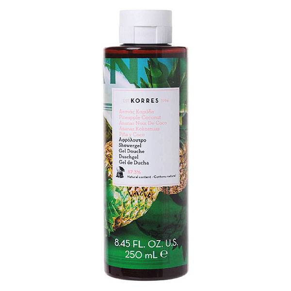 Korres Gel Douche Ananas Coco 250ml