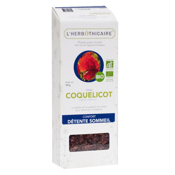 L'Herbôthicaire Tisane Coquelicot Bio 30g