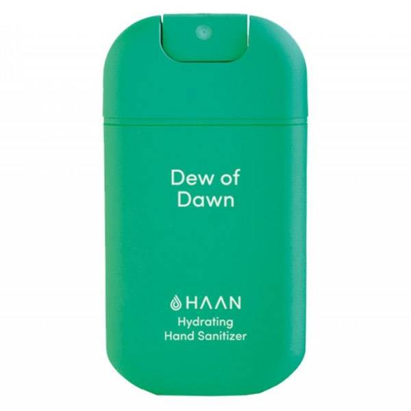 Haan Spray Rechargeable Désinfectant Hydratant Mains Dew of Dawn Herbe Fraîche 30ml