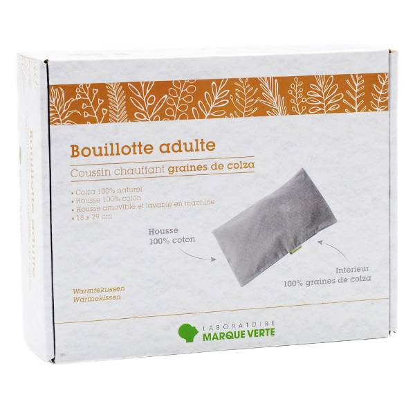 Marque Verte Bouillotte Adulte