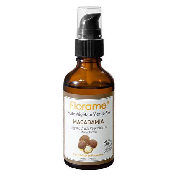 Florame Aromathérapie Huile Végétale Macadamia Bio 50ml