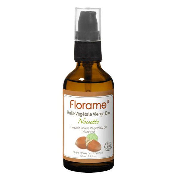 Florame Aromathérapie Huile Végétale Noisette Bio 50ml