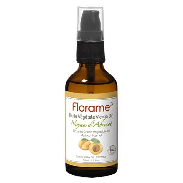 Florame Aromathérapie Huile Végétale Noyaux d'Abricot Bio 50ml