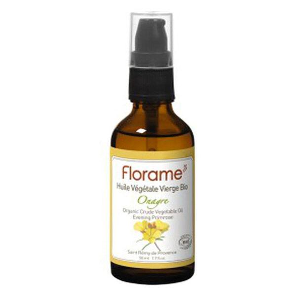 Florame Aromathérapie Huile Végétale Onagre Bio 50ml
