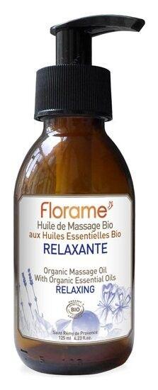 Florame Aromathérapie Huile Massage Relaxante Bio 120ml