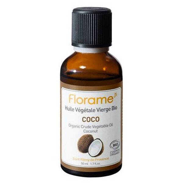 Florame Aromathérapie Huile Végétale Coco Bio 50ml