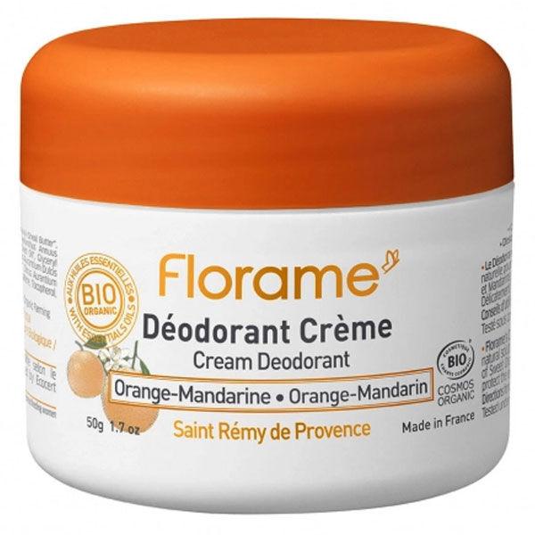 Florame Déodorant Crème Orange-Mandarine 50g