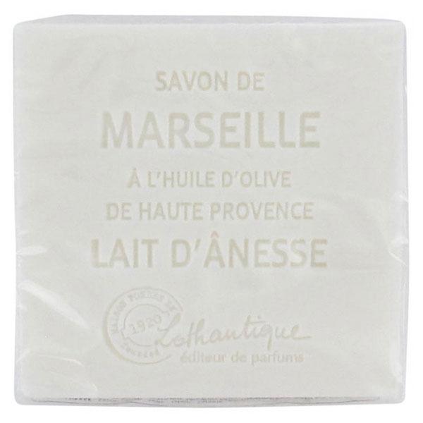 Lothantique Les Savons de Marseille Savon Solide Lait d'Anesse 100g