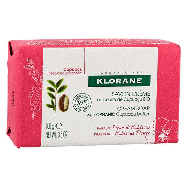 Klorane Beurre de Cupuaçu Savon Crème Parfum Fleur d'Hibiscus 100g
