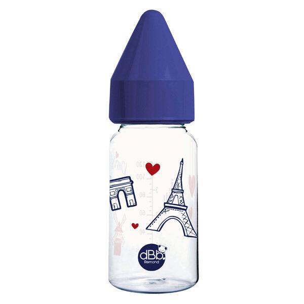 dBb Remond Biberon Régul'Air Bleu Paris 0-4 mois 110ml