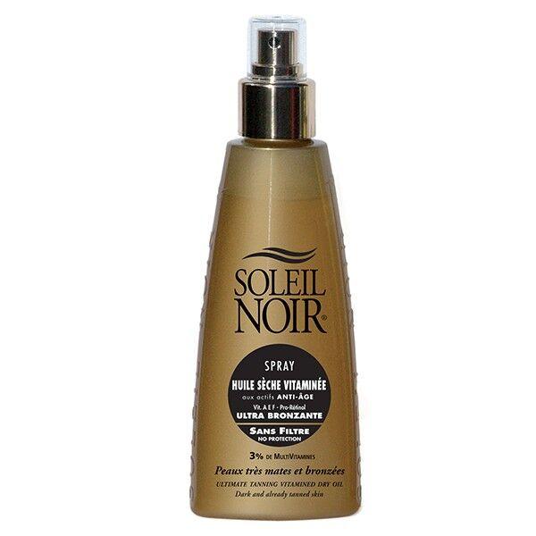 Soleil Noir Spray Huile Sèche Vitaminée Ultra Bronzante 150ml