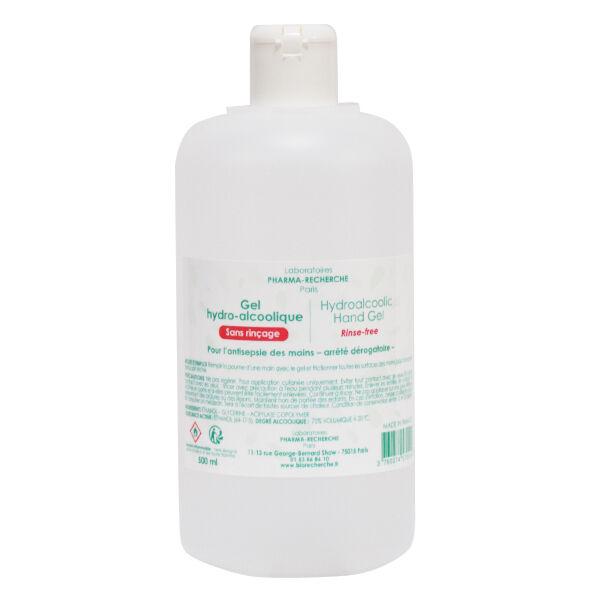 Pharma-Recherche Gel Hydro-alcoolique 500ml