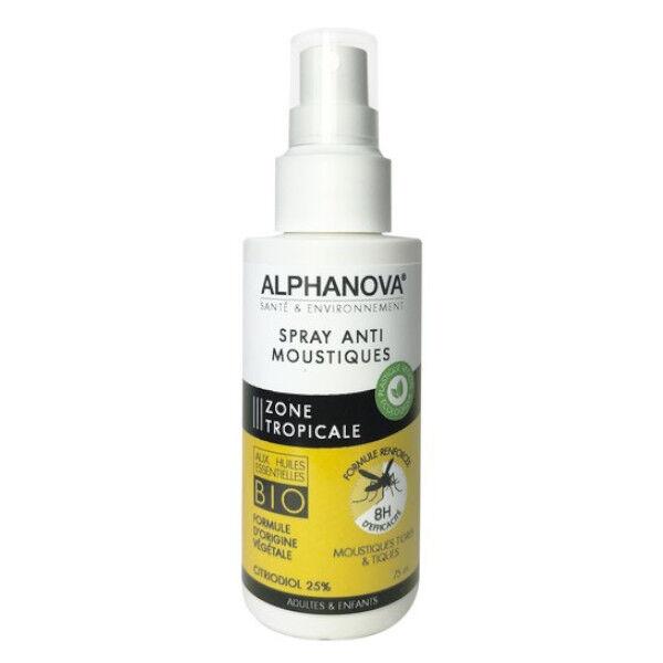 Alphanova Anti Moustique Zone Tropicale Spray 75ml