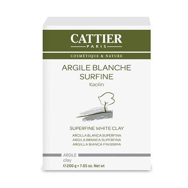 Cattier Argile Blanche Surfine 200g
