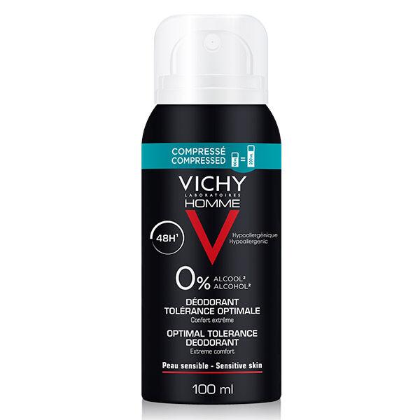 Vichy Homme Déodorant Tolérance Optimale 48H Spray 100ml
