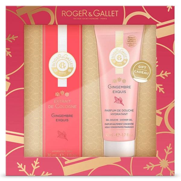 Roger & Gallet Gingembre Exquis 30ml + Coffret Gel Douche 50ml Offert