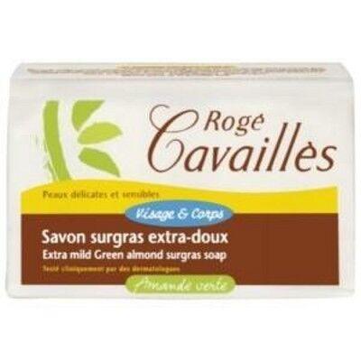Rogé Cavaillès Savon surgras Extra Doux Amande Verte 250g