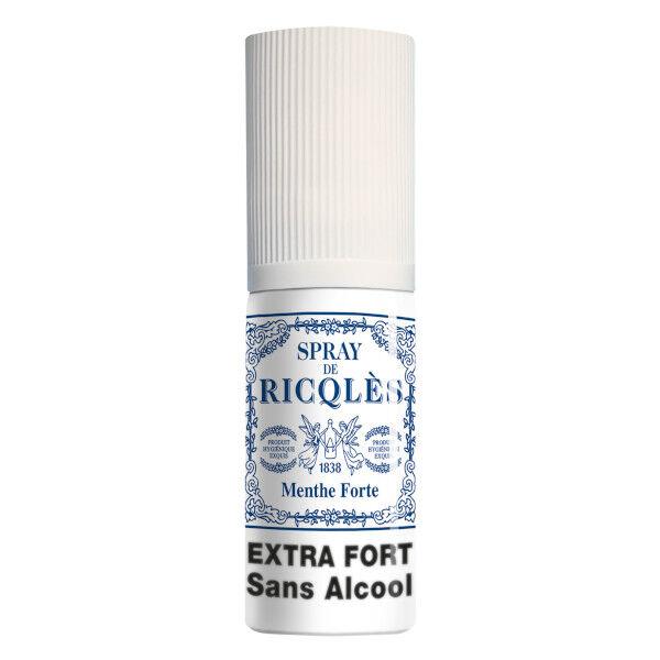Ricqles Spray Haleine Fraîche Sans Alcool 15ml