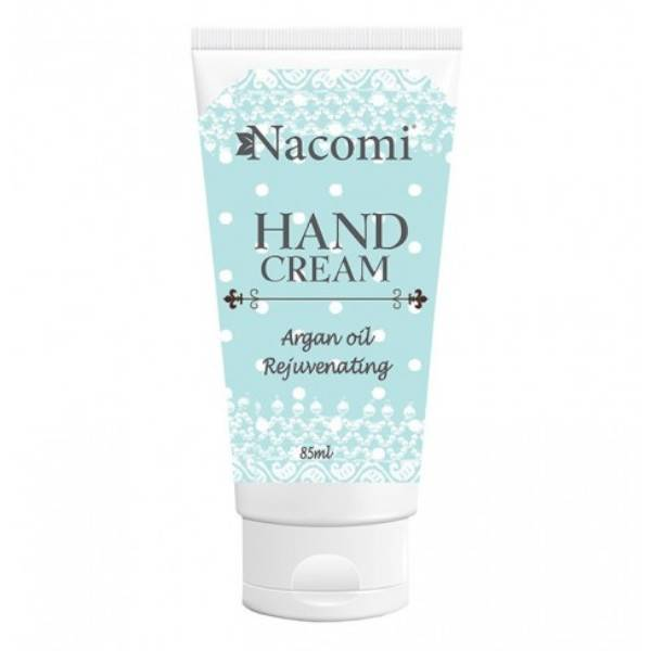 Nacomi Crème Mains Rajeunissante Huile d'Argan 85ml