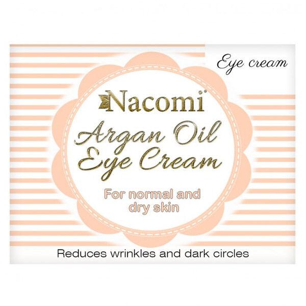 Nacomi Crème pour les Yeux à l'Huile d'Argan 15ml