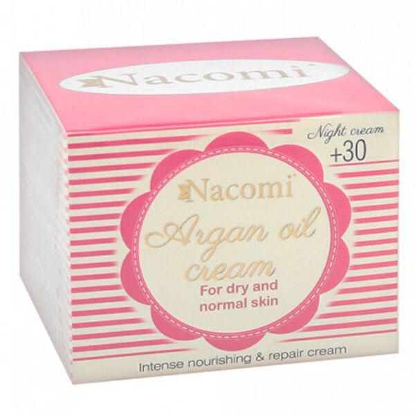 Nacomi Crème de Nuit Huile d'Argan 50ml