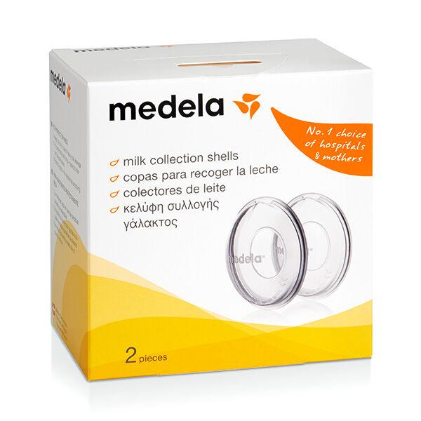 Medela Coupelles Recueil - Lait Boite de 2