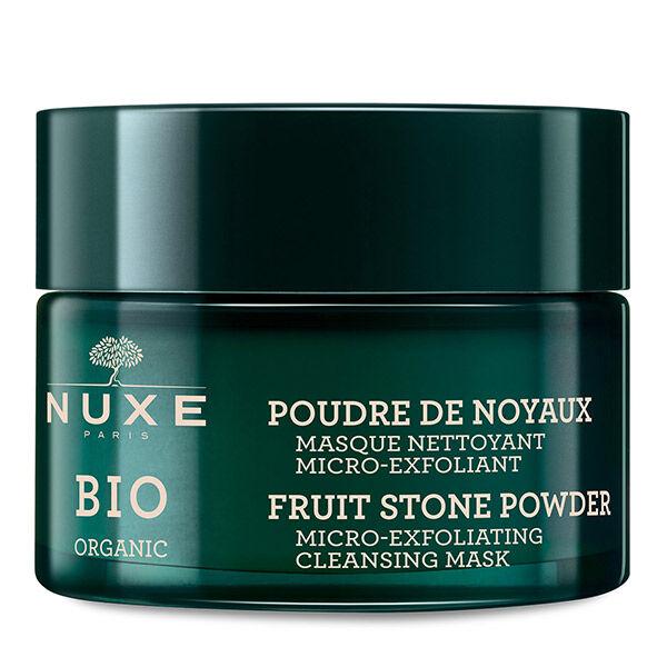 Nuxe Bio Masque Nettoyant Micro-Exfoliant Poudre de Noyaux 50ml