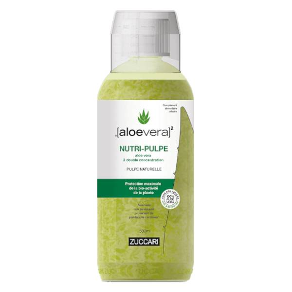 Aloevera Nutri Pulpe Bouteille 500ml