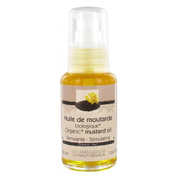 Haut Ségala Haut-Ségala Huile de Moutarde Bio Stimulante Cheveux 50ml