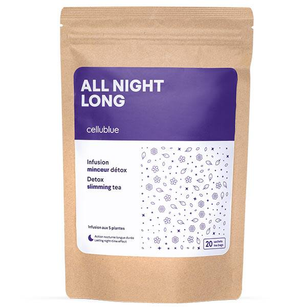 Cellublue All Night Long Infusion Minceur Détox 20 sachets