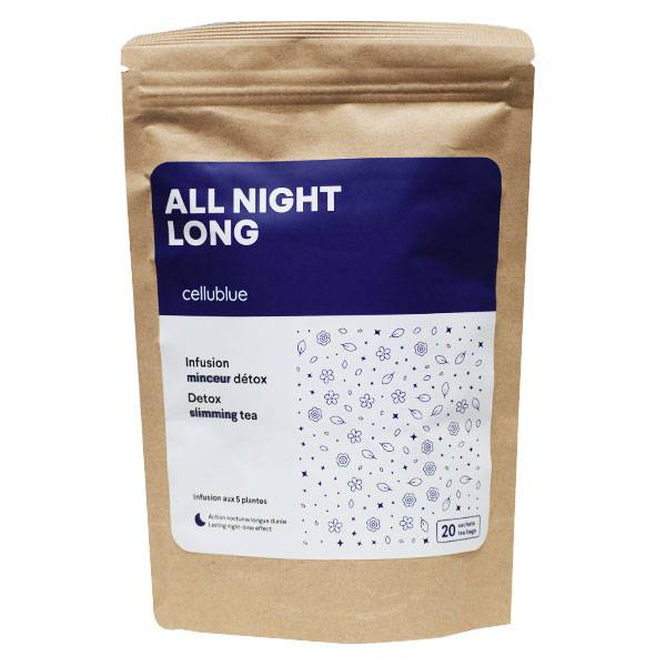 Cellublue All Night Long Infusion Minceur Détox 20 sachets