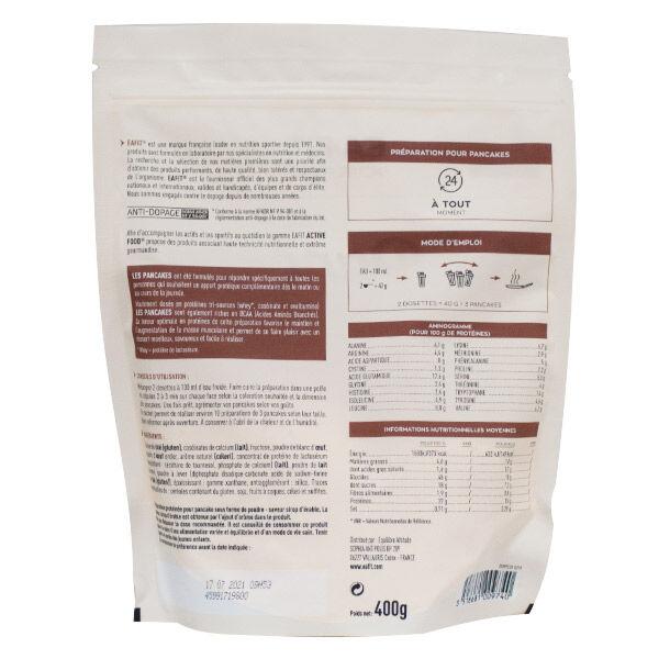 Eafit Pancakes Protéinés Sirop d'Erable 400g
