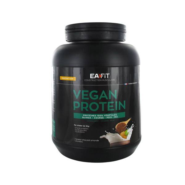 Eafit Vegan Protein Quinoa Courge Pois Riz 750g
