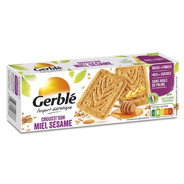 Gerblé Biscuits Crousti'son Miel Sésame 200g