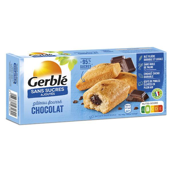 Gerblé Sans Sucres Ajoutés Gâteau Fourré Chocolat 150g