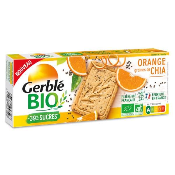 Gerblé Bio Orange Graines de Chia 132g