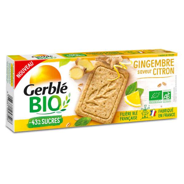 Gerblé Bio Gingembre Saveur Citron 132g