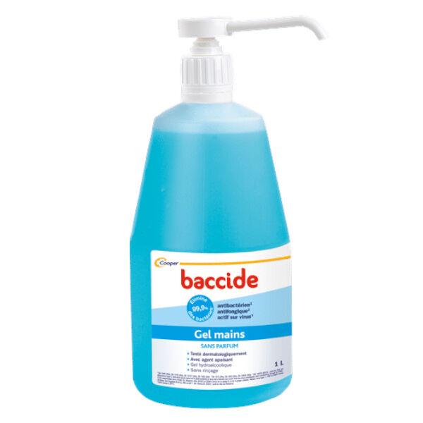 Cooper Baccide Gel Mains Hydroalcoolique 1L