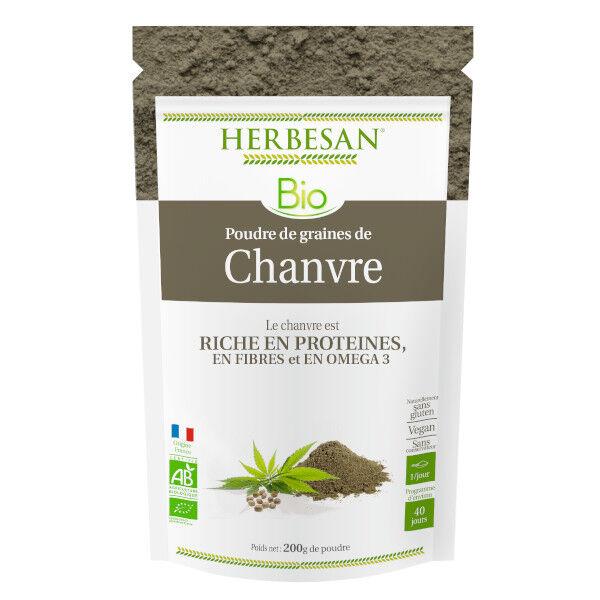 Herbesan Chanvre Bio poudre 200g