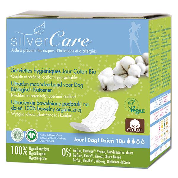 Silvercare Silver Care Serviette Ultra-Fine Jour 10 unités