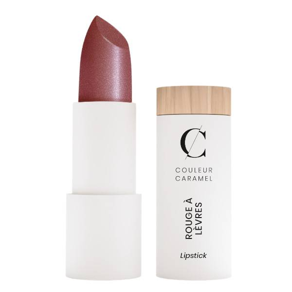 Couleur Caramel Rouge à Lèvres Glossy Bio N°243 Hibiscus 3,5g