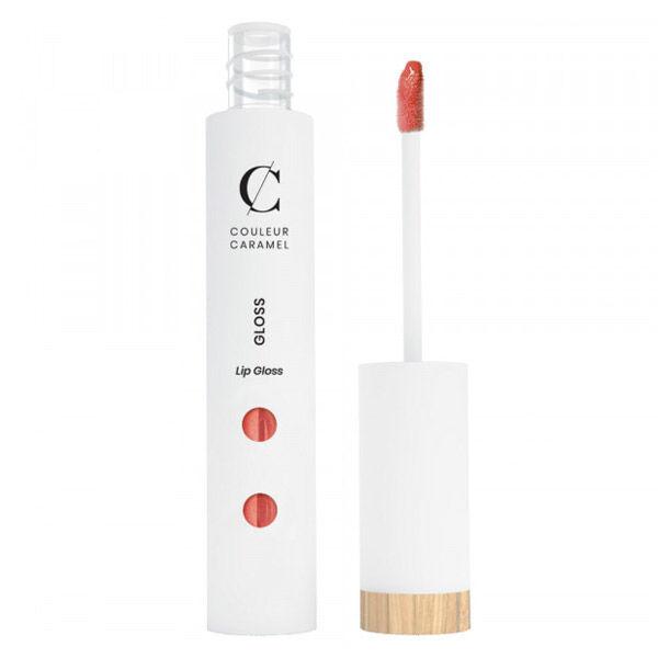 Couleur Caramel Gloss Bio N°808 Corail Nacré 6ml