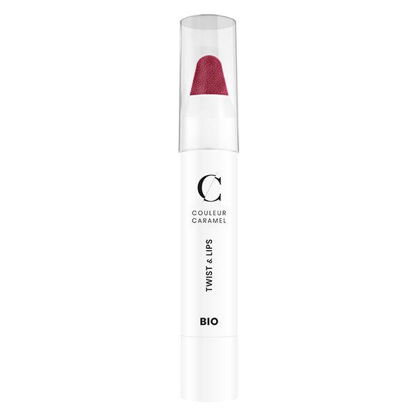 Couleur Caramel Twist & Lips Crayon à Lèvres Bio N°403 Rose Foncé 3g