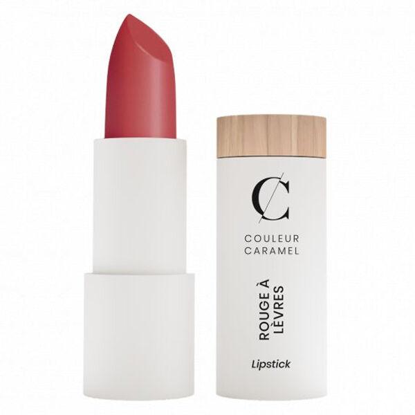 Couleur Caramel Rouge à Lèvres Satiné Bio N°296 Bois de Rose Intense 3,5g