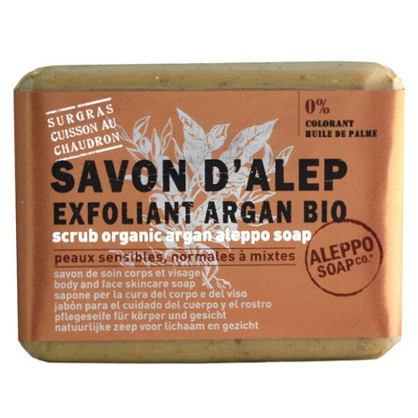 Tadé Savon Alep Exfoliant Argan Bio 100g