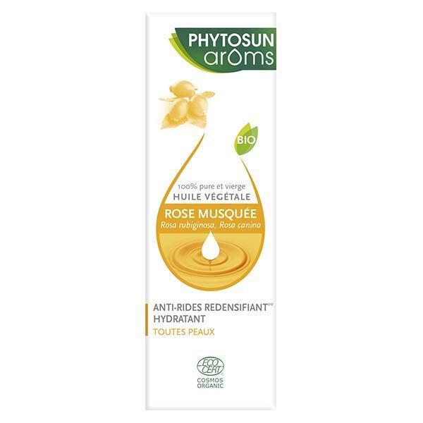 Phytosun Arôms Huile Végétale Rose Musquée Bio 50ml