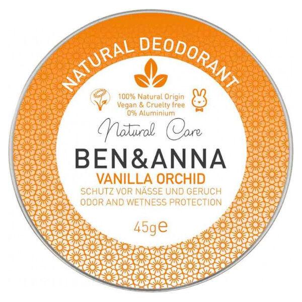 Ben & Anna Déo-Crème Vanille Orchidée 45g